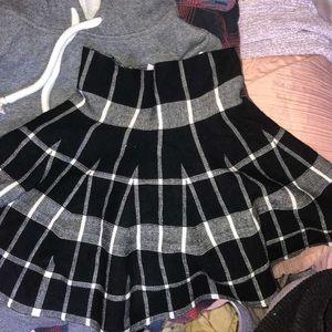 Knit mini skirt (Small/Medium)